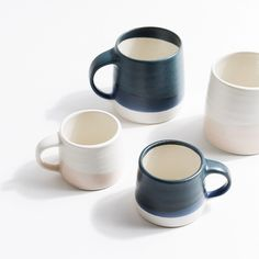 Kinto Slow Coffee Mug in Navy