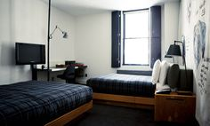 Large Double (Photo 2) : New Budget & Upscale Rooms : Ace Hotel New York City