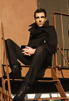 Zachary Quinto - even now, I am torn between rage at Sylar and love for Spock.  QUINTO! *shakes fist*