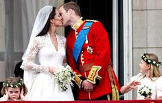 Kate & William dated on & off for 8 years.  Wearing an Alexander McQueen gown, Kate & Prince William were married on April 29, 2011.  Billions all over the world watched the historic event.