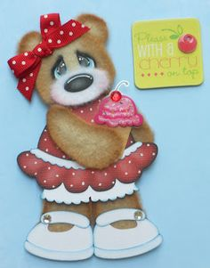 """""""Please with a Cherry on Top"""" - created using the Tear Teddy and Patriot Kid Outfit"""