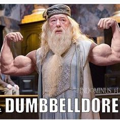 Haha! We're a Potter and gym household and this cracks me up