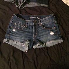 American eagle shorts Size 6 good condition, this was my favorite pair of shorts for the longest time but I have out grown them  American Eagle Outfitters Shorts Jean Shorts