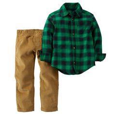 2-Piece Shirt & Pant Set