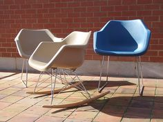 Polypropylene Armchairs design in 1967 by Robin Day