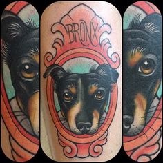 love this dog tattoo