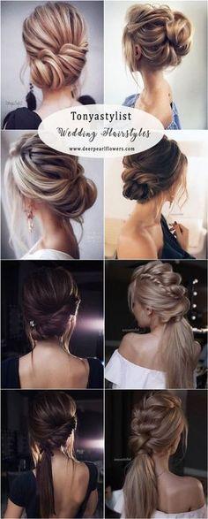 Tonyastylist long wedding hairstyles and updo ideas