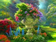 Manantiales de Armonías: El Jardinero ... Poema de Rabindranath Tagore Sólo hay que poner en la balanza de la vida, lo que es importante, y lo que no, e ir tras ello, no pierdan a su jardinero, ni dejen perder a la doncella, aunque ya tengan muchos años juntos, quizás toda la vida, no, siempre hay lugar para el amor, para soñar, para amar y ser amados.