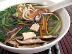 udon soup by The Gastronomer, via Flickr