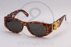 Image of Gianni Versace 424 tortoise :: Vintage Sunglasses