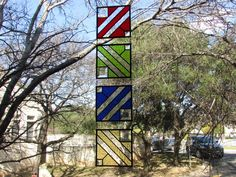 Stained Glass Panels by GKYCreations on Etsy https://www.etsy.com/listing/265458247/stained-glass-panels
