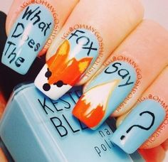 The Year 2013 As Told By Nail Art  |  Everyone you've ever met tried to send you this video.