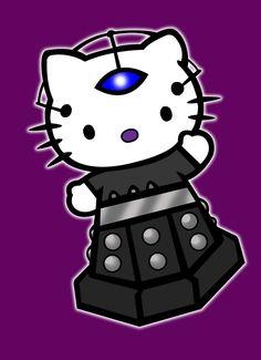 Hello Kitty #Davros #Dalek #Dr. Who