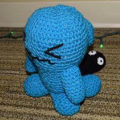 WAAAAAAABBUFFET #wobbuffet #workinprogress #handmadebyme #handmade #craft #DIY #Pokemon #amigurumi #cute #kawaii #crochet #knitting #plush #plushie #doll #anime #manga #nofilter by hailthenaninator