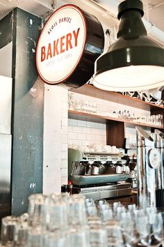 A Verdant Bakery in Vienna : Remodelista...I love the vintage feel of this space...so cool.