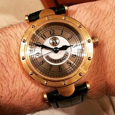 Vianney Halter Classic watch. Smaller for my taste but cool design for sure. Really interesting. #ablogtowatch #vianneyhalter | Flickr - Photo Sharing!