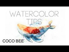 Loose watercolor roses - YouTube