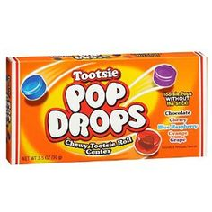 What do you get if you take a classic Tootsie Pop and remove the lollipop stick? You get original Tootsie Pop Drops! This unique confection offers the same deli Office Candy Jar, Coffee Protein Smoothie, Hard Candy Concealer, Hard Candy Primer, Hard Candy Glamoflauge, Funny Candy, Hard Candy Molds, Hard Candy Recipes