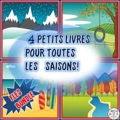 Your beginning L2 students will love learning about the four seasons with this FLES FRENCH BUNDLE. Bundle includes four files - one for each of the seasons. See links below for full descriptions and previews for each product included in this bundle: En Hiver... Au Printemps EN ÉTÉ En Automne...