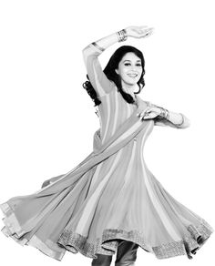 Beautiful dancer. #Madhuri #Bollywood