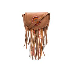 Sam Edelman Ariana Crossbody (5.275 RUB) ❤ liked on Polyvore featuring bags, handbags, shoulder bags, shoulder handbags, fringe purse crossbody, brown crossbody purse, purse crossbody and cross-body handbag