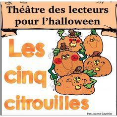 L'halloween Pièce de Théâtre: Cinq Citrouilles