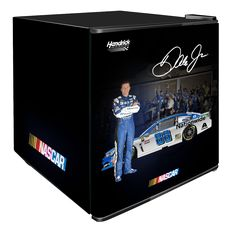 NASCAR Beverage Center There's nothing quite like popping open a cold drink while you're tailgating for the big race. This NASCAR Gifts For Sports Fans, Beverage Center, Solid Doors, Dale Earnhardt Jr, Nascar, Beverages, Walmart, Products, At Walmart