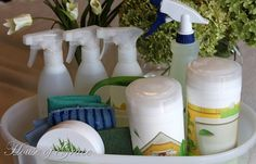 organizing your cleaning schedule
