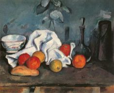 Paul Cézanne - Fruits