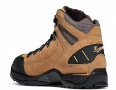 "Danner 453 Tan / Grey GTX Boots  Rated a ""Best Buy"" by Backpacker Magazine, these boots offer athletic performance with traditional Danner stability. The full-grain nubuc leather upper offers comfort and durability and the GORE-TEX® lining provides waterproof, breathable protection. Danner's patented TERRA FORCE® support system with TFX™ outsole keeps the boot light and comfortable while delivering outstanding traction on long expeditions."