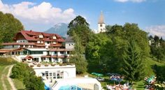 Familienhotel Karnischer Hof Sankt Stefan an der Gail Surrounded by the Carnic Alps, Familienhotel Karnischer Hof offers you fine Carinthian and Friulian cuisine, a spa and fitness area including an indoor pool with counter current and Alpine-style rooms.