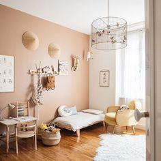 - lit Mum and Dad Factory - chambre d'enfant Baby Bedroom, Baby Room Decor, Girls Bedroom, Sala Grande, Kids Room Design, Little Girl Rooms, Room Inspiration, Home, Geometric Wall