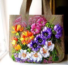 """Купить Сумочка """"Созвездье ароматов"""" - разноцветный, авторская ручная работа, авторская сумка"""