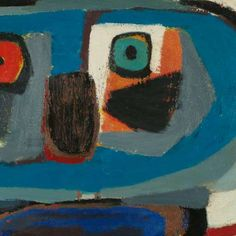 Square Man, Karel Appel, 1951 - Masterpieces - Works of art - Rijksstudio - Rijksmuseum