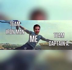 Captain America Civil war. funny meme