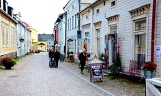 Meet Porvoo, One of Finland's Six Medieval Towns #finland #porvoo #medieval