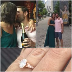 What an exciting weekend for this awesome couple. After crossing the finish line of his first Iron Man triathlon in Texas on Saturday, Matt proposed to Amanda :) Congratulations to the future Mr. and Mrs. Kittle! We're so happy to have been a part of your special moment!