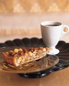 Caramel Nut Tart . . . to support my nut addiction