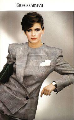 Gia for Armani 1980