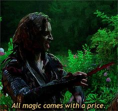Rumple <3 All magic comes with a price:)