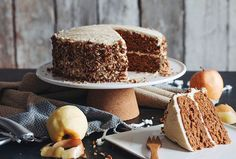 This recipe for Vegan Apple Spice Cake with Maple Buttercream will make your home smell amazing.