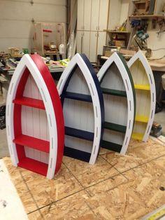 Decorative Boat Shelf Nautical Boat Shelf Children's | Etsy