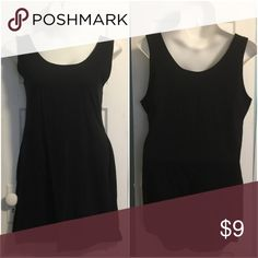 Basic Black Love J Tank Dress - 3X This is a basic black tank stretch dress from Love J. Size 3X. Has a ton of form-fitting stretch and is a great piece for layering. Try it with some black tights, boots, and your favorite flannel shirt or cardigan sweater. Love J Dresses