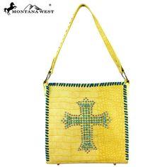 Montana West Spiritual Collection Croc 2 Handbag