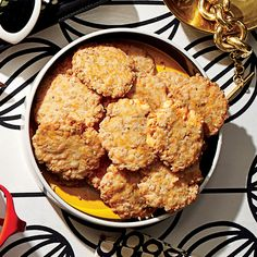 Southern hostesses have long relied on cheese wafers to keep their party guests satiated.