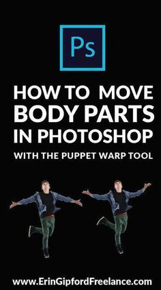 Did you know that you can manipulate the position of arms, legs, eyebrows and any other part of a human photo? In this tutorial I will show you how to do just that using the Puppet Warp tool in Adobe Photoshop! And guess what? It's not even hard Photoshop Tutorial, Art Tutorial, Learn Photoshop, Photoshop For Photographers, Photoshop Photos, Photoshop Design, Photoshop Photography, Photoshop Elements, Adobe Photoshop