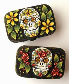 Clayworks by Kim Detmers: Sugar Skulls