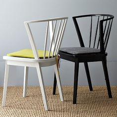 Modern Windsor Dining Chair #WestElm