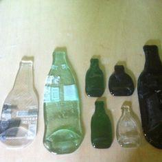 Flattened Bottles