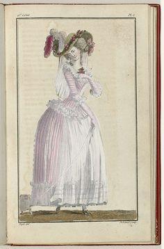 Cabinet des Modes ou les Modes Nouvelles, 15 Juin 1786, pl. I, A.B. Duhamel, Pugin, Buisson, 1786